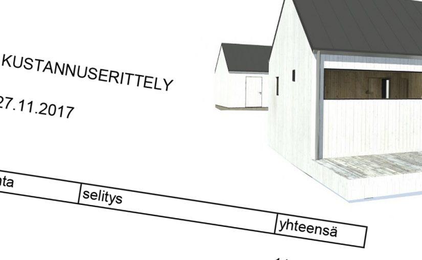 Asuntolainan hankinta omakotitalon rakennusprojektia varten